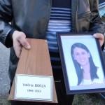 Valeria Borza, aplaudată pe ultimul drum…
