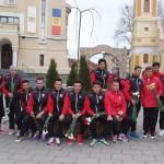 Fotbaliştii de la FC Caransebeş au marcat 200 de goluri cu… flori