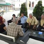 La o cafea cu Mircea Diaconu, la Caransebeş