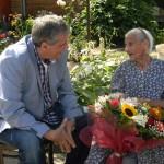 Tanti Margit, din Caransebeș, sărbătorită la 108 ani!