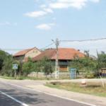Apă în Valea Cenchii, asfalt la Jupa