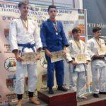 Tinerii judoka din Caransebeş, la înălţime pe malul Dunării