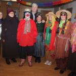 Femeile romano-catolice, în carnaval