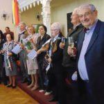 350 de ani de căsnicie, premiaţi la Caransebeş