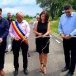 La Păltiniş s-au inaugurat 6,8 km de drum agricol
