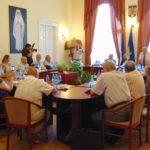 Pe urmele Marii Uniri, academicienii timişoreni au poposit o zi la Caransebeş