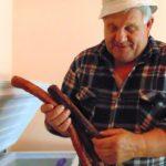 Cârnaţii de Soceni, produs tradiţional cu acte-n regulă