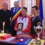 Alex Matei, Cetăţean de onoare al Caransebeşului, la 17 ani