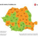 Harta mortalității infantile – discrepanțe cronice între județe