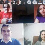 Elevii din Teregova şi Principele Nicolae, întâlnire pe… Skype!