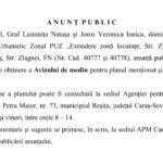 ANUNȚ PUBLIC