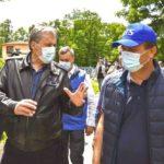 Prezent în Caraş-Severin, Marcel Vela a promis despăgubiri pentru inundaţii