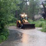 La Caransebeş, ploile au făcut prăpăd în Teiuş