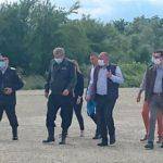Prezent în Caraş-Severin, Marcel Vela a promis despăgubiri în urma inundaţiilor