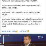 """Romeo Dunca: """"Aici, la noi, PMP-ul face alianțe şi cu stânga dacă acestea rezolvă interesele d-lui Ionuț Popovici"""""""