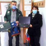 Laptopuri din Olanda pentru elevii din Armeniş