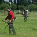SPIR a lucrat în parcurile din Caransebeş